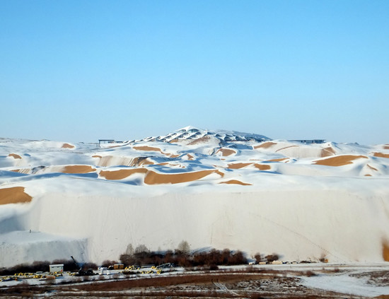 architecture Gobi Desert