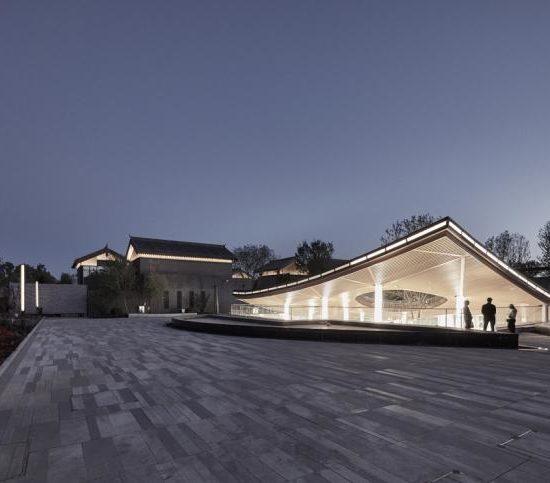 Atelier TeamMinus: Piazza & Art Space, Gujiaying, 2019